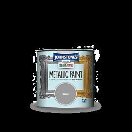 메탈릭 이펙트 페인트-실버 375ml